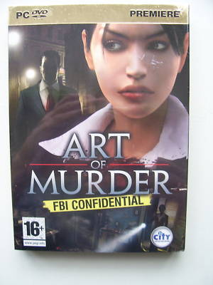 Art of Murder PC Game SEALED
