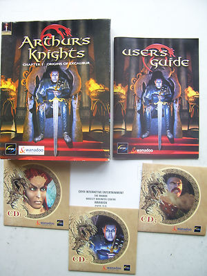 Arthurs Knights  Chapter 1 Origins of Excalibur BIG BOX  EDT   RARE