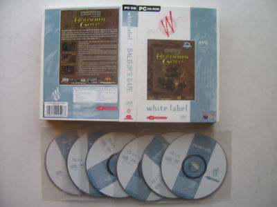 Baldur's Gate  PC Game Boxed Edition RARE