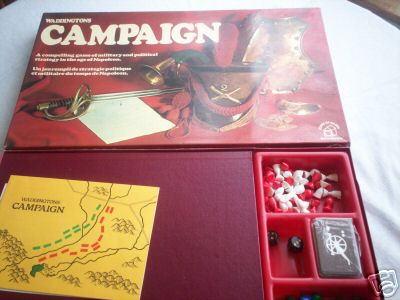 Campaign... Board Game By  Waddingtons