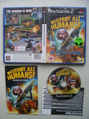 Destroy All Humans!  PS2