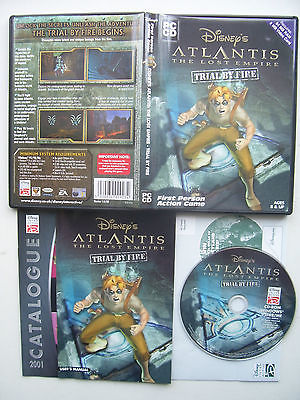 Disney's Atlantis The Lost Empire  Trial By Fire PC Game
