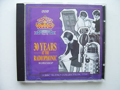 Doctor Who 30 Years at the Radiophonic Workshop  CD