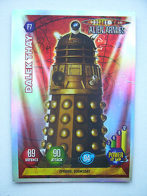 Doctor Who Alien Armies Dalek Thay F7 Card