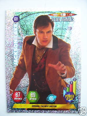 Doctor Who Alien Armies Jackson Lake G31 Card