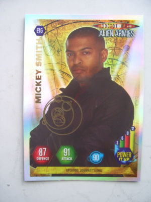 Doctor Who Alien Armies Micky Smith E16 Card