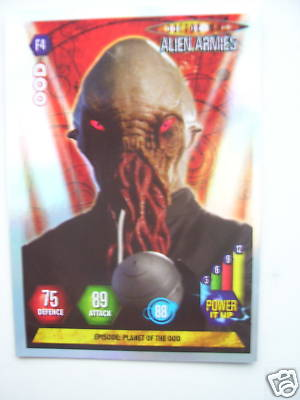 Doctor Who Alien Armies OOD F4 Card