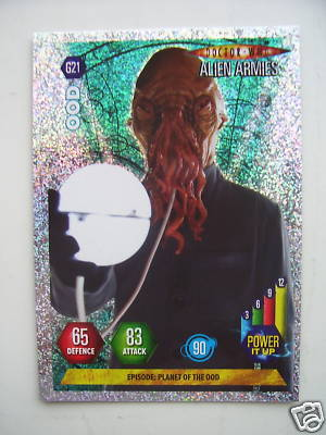 Doctor Who Alien Armies OOD G21 Card