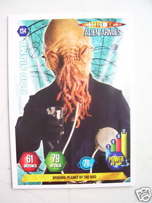 Doctor Who Alien Armies Ood Sigma 134  Card