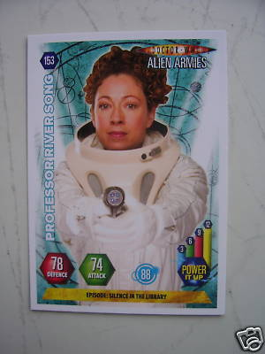 Doctor Who Alien Armies Professor River Song 153 Card