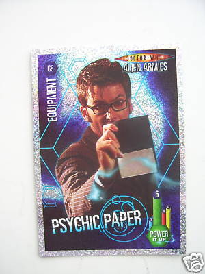 Doctor Who Alien Armies Psychic Paper G5 Card