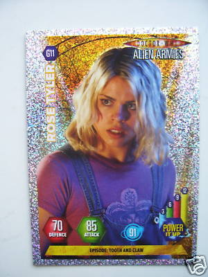 Doctor Who Alien Armies Rose Tyler G11 Card