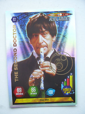 Doctor Who Alien Armies Second Doctor E2 Card