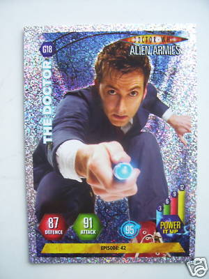 Doctor Who Alien Armies The Doctor G18 Card