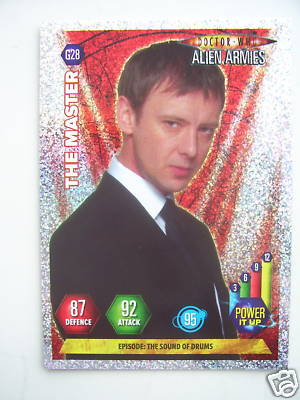 Doctor Who Alien Armies The Master G28 Card