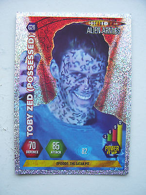Doctor Who Alien Armies Toby Zed (Possessed) G26 Card