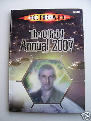 Doctor Who Annual 2007 HOLOGRAM FRONT EDITION