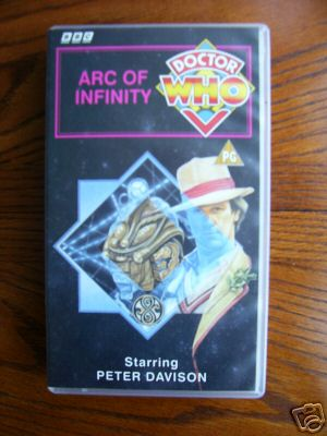 Doctor Who Arc of Infinity.....Rare