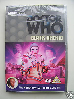 Doctor Who  Black Orchid  DVD SEALED