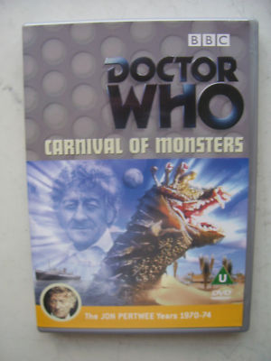 Doctor Who Carnival of Monsters  DVD