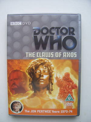 Doctor Who Claws of Axos..DVD