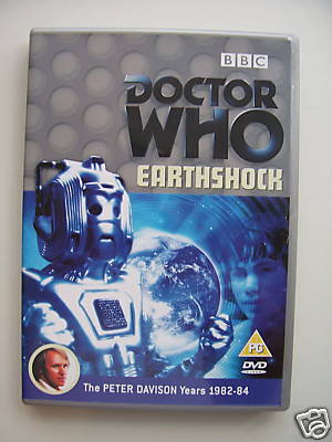 Doctor Who Earthshock...DVD