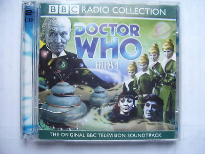 Doctor Who Galaxy 4 CD Audio Soundtrack