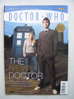 Doctor Who Magazine Issue 360 The New  Doctor! Rare