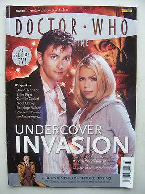 Doctor Who Magazine Issue 365 Undercover Invasion Rare