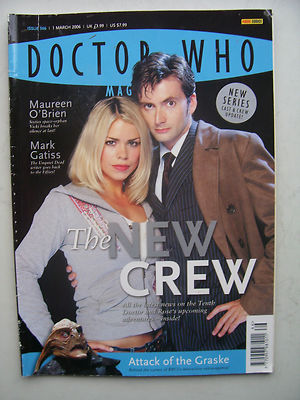 Doctor Who Magazine Issue 366 The New Crew Rare