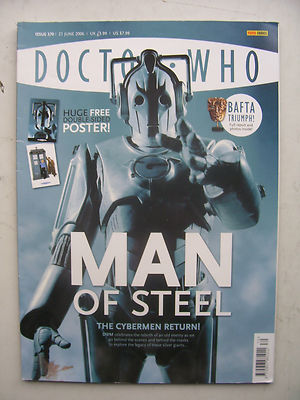 Doctor Who Magazine Issue 370 Man of Steel Rare