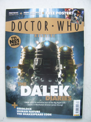 Doctor Who Magazine issue 382 Rare
