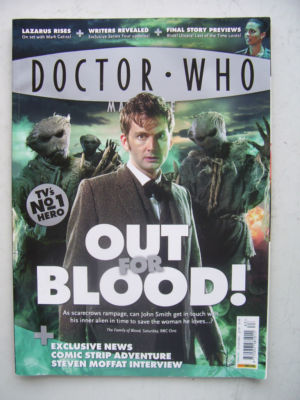 Doctor Who Magazine issue 383 Rare