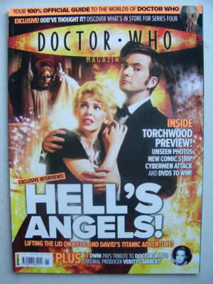 Doctor Who Magazine issue 391  Rare