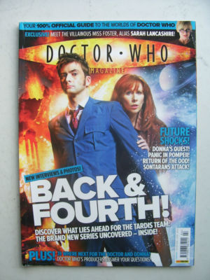 Doctor Who Magazine issue 394 Rare
