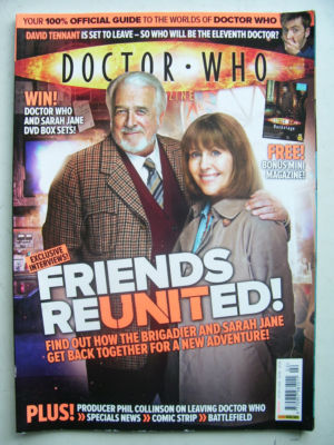 Doctor Who Magazine issue 402 Rare