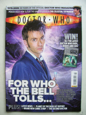 Doctor Who Magazine issue 408 Rare