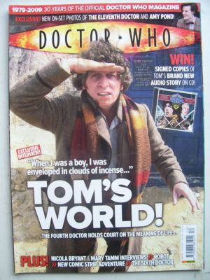 Doctor Who Magazine issue 412 Rare