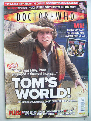 Doctor Who Magazine issue 412 Tom's World!