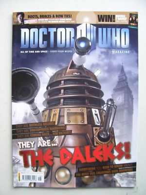 Doctor Who Magazine issue 418 Rare