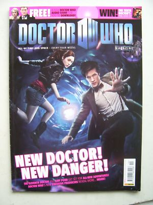 Doctor Who Magazine issue 419 Rare