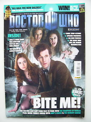 Doctor Who Magazine issue 421 Bite Me!