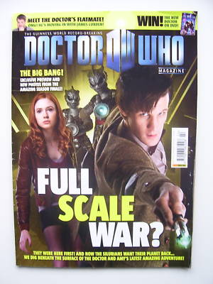 Doctor Who Magazine issue 422 Rare