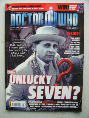 Doctor Who Magazine issue 425 Rare