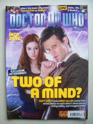 Doctor Who Magazine issue 430 Rare