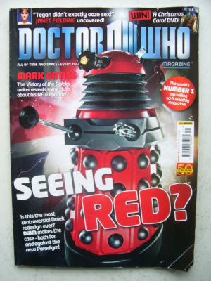 Doctor Who Magazine issue 431 Rare