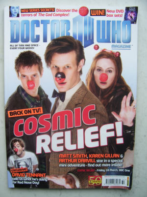 Doctor Who Magazine issue 432 Rare