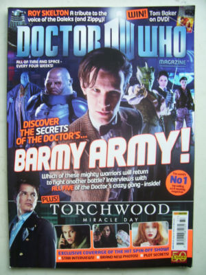 Doctor Who Magazine issue 437  Rare