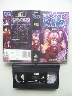 Doctor Who Meglos VHS Tom Baker Rare