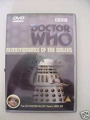 Doctor Who Remembrance of the Daleks DVD
